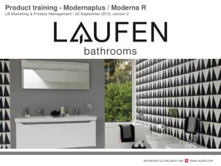 Product training -  Modernaplus  /  Moderna  R