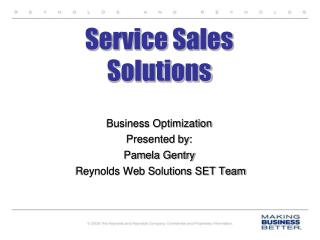 Service  Sales Solutions