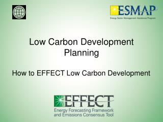 Low Carbon Development Planning