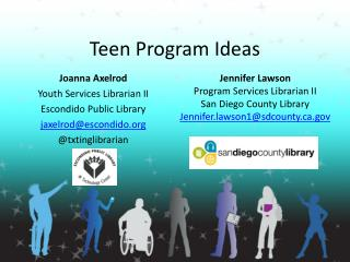 Teen Program Ideas