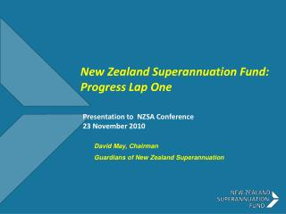 Presentation to  NZSA Conference  23 November 2010