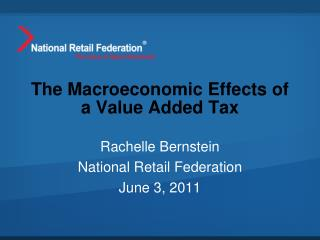 The Macroeconomic Effects of a Value Added Tax