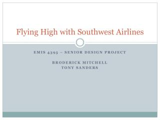Flying High with Southwest Airlines