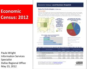 Economic  Census: 2012