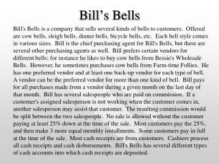 Bill's Bells