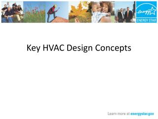 Key HVAC Design Concepts