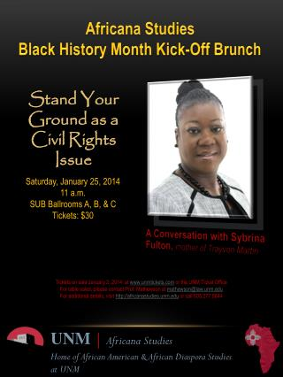 Stand Your Ground as a Civil Rights Issue