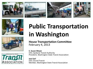 Public Transportation  in Washington