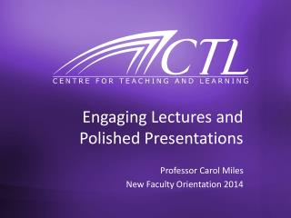 Engaging Lectures