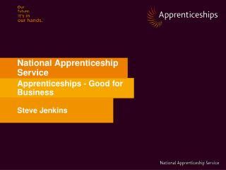 national apprenticeship service