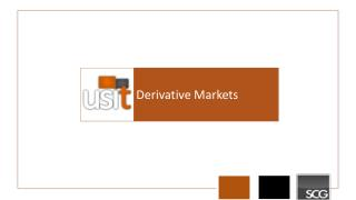 Derivative Markets