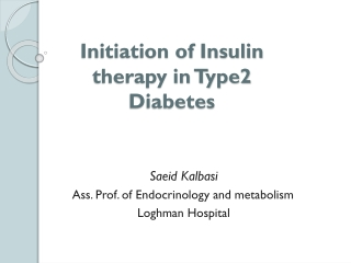 basal insulin therapy