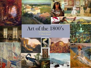 art of the 1800