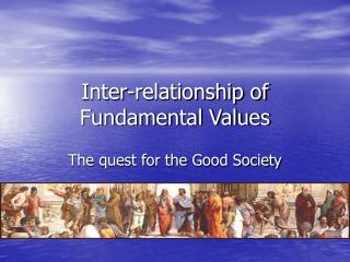 Inter-relationship of Fundamental Values