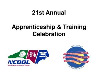21st  Annual Apprenticeship & Training Celebration
