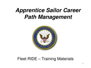 Apprentice Sailor Career Path Management