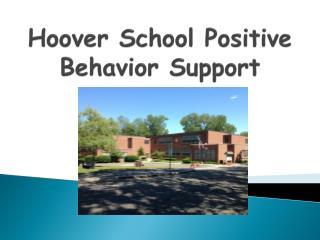Hoover School Positive Behavior Support
