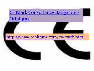 ce mark  consultancy  service in bangalore