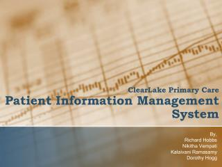 ClearLake  Primary Care Patient Information  Management System