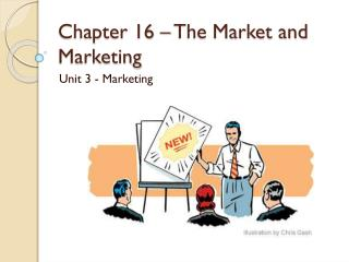 Chapter 16 – The Market and Marketing