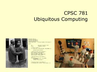 CPSC 781