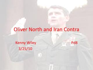 Oliver North and Iran Contra