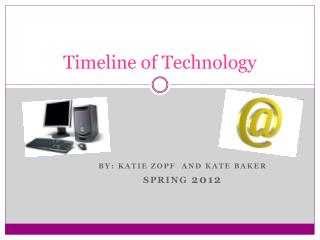 Timeline of Technology