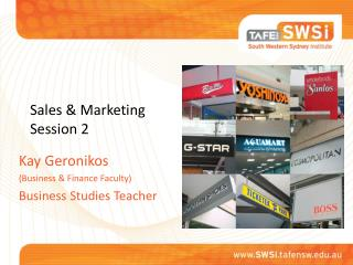 Sales & Marketing Session 2