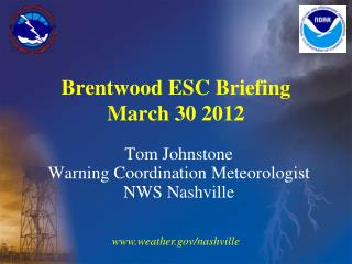 Brentwood ESC Briefing March 30 2012