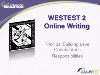 WESTEST 2 Online Writing