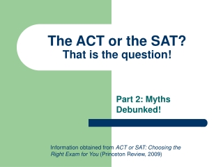 the sat    what does it mean for students