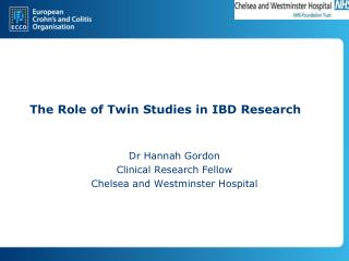 The Role of Twin Studies in IBD Research