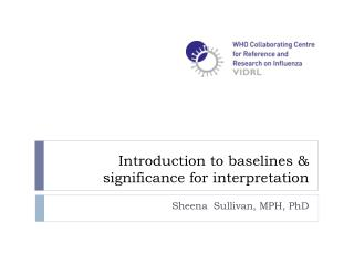 Introduction to baselines  & significance for interpretation