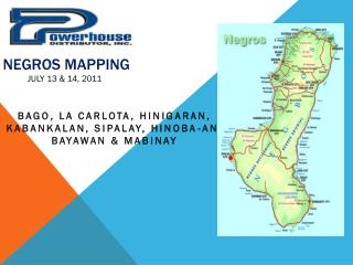 NEGROS MAPPING