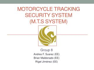 Motorcycle tracking security system (M.T.S system)