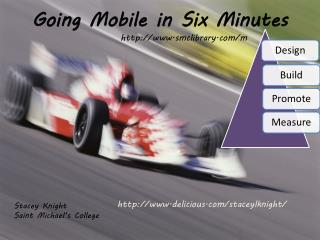 Going Mobile in Six Minutes