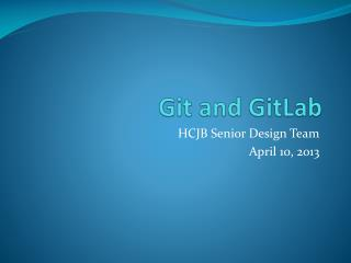 Git and GitLab