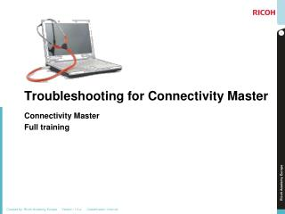 Troubleshooting for Connectivity Master