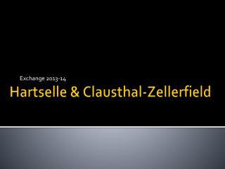 Hartselle & Clausthal-Zellerfield