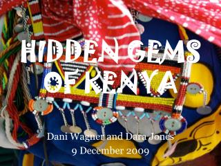 HIDDEN GEMS OF KENYA