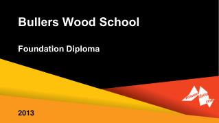 Bullers Wood School  Foundation Diploma