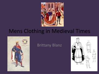 Mens  Clothing in Medieval Times