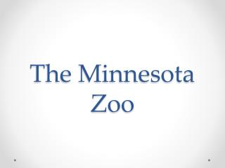 The Minnesota Zoo