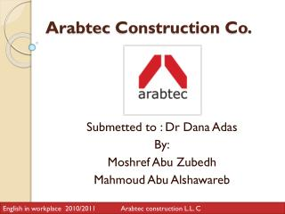Arabtec  Construction Co.