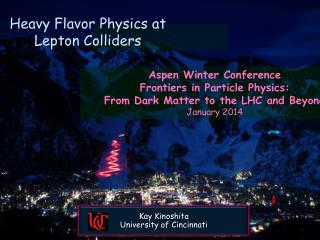 Heavy Flavor Physics at Lepton Colliders