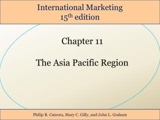Chapter 11 The Asia Pacific Region