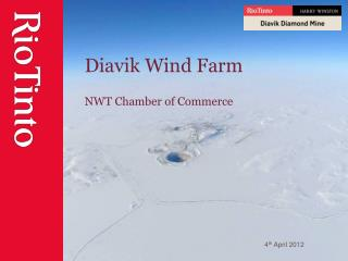 Diavik  Wind Farm NWT Chamber of Commerce