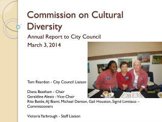 Commission on Cultural Diversity