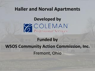 Haller and Norval Apartments
