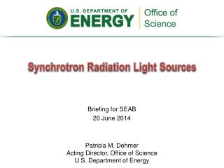 Synchrotron Radiation Light Sources